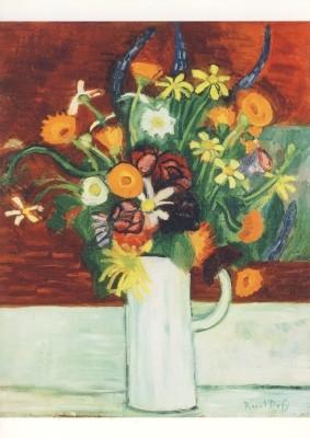Raoul Dufy, Blumenstrauß in einer Vase, 1907