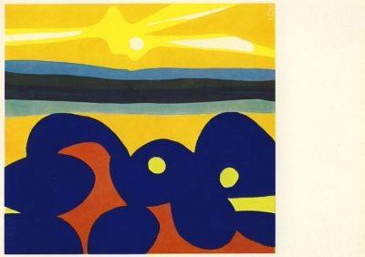 Nay, E.-W. Blaufiguration, 1968. KK