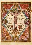Initiale T. Sakramentar aus Fulda 10. Jh. KK