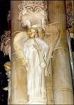 Posaunenblasender Engel, Detail, 1235. Engelspfeiler. KK