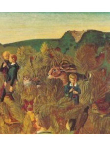 Rueegg, Ernst-Georg. Schalmei am Abend, 1933/35. KK