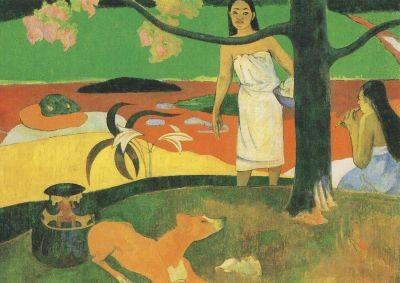 Paul Gauguin. Pastorales Tahitennes, 1893