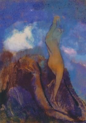 Odilon Redon. Geburt der Venus, um 1912