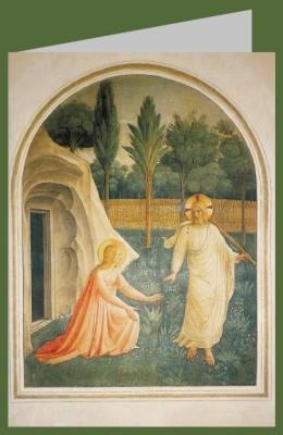 Angelico. Christus erscheint Maria Magdalena. DK