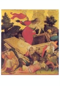 Meister Franke. Die Auferstehung Christi. KK