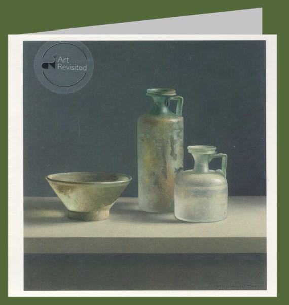 Henk Helmantel. Roman glass, 2010. 15x15