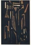 Soulages, P. Komposition, 1950. (2.Wahl)