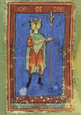 Liber Astrologiae, 14. Jh. Zwillinge. KK