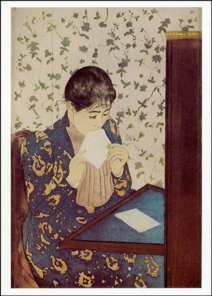 Mary Cassatt. Der Brief, ca. 1891