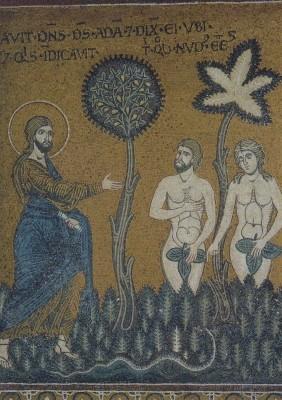 Gott rügt Adam und Eva 11. KK