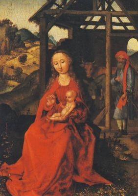 Geburt Christi, Schongauer