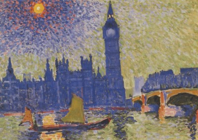 André Derain. Big Ben in London