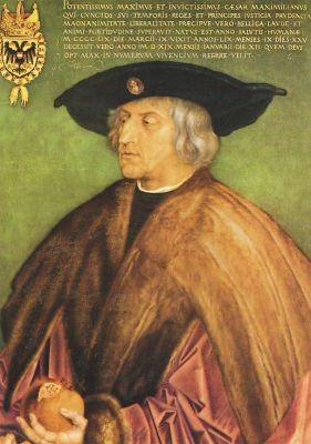 Albrecht Dürer. Kaiser Maximilian I. 1519. KK