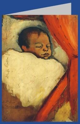 August Macke. Walter, 3 Tage alt, 1910