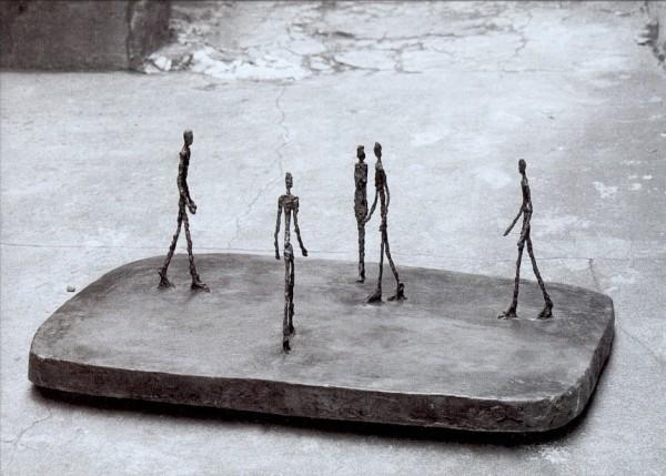 Giacometti, Alberto. Platz, 1948. KK