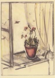 Hummel, M.I. Kalanchoe mit Hummel, 1943/44. KK