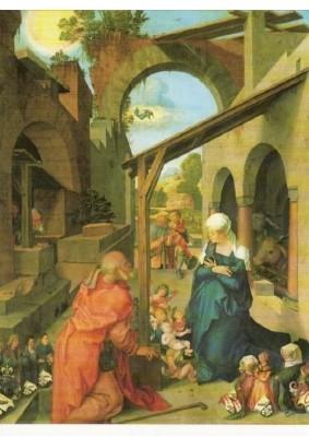 Albrecht Dürer. Die Geburt Christi, Paumgartner Altar