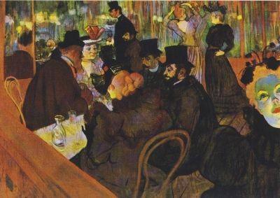 Henri de Toulouse-Lautrec. Im Moulin Rouge, 1892