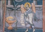 Byzantinisch. Johannes der Täufer. Rumänisch. KK