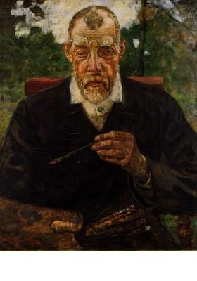 Heinrich Breling. Selbstbildnis
