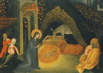 Giovanni di Paolo. Geburt Christi