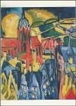 Ernst Ludwig Kirchner. Frankfurt, 1910. KK