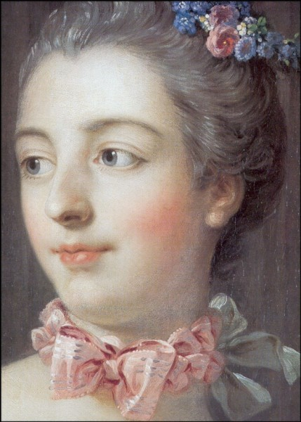 Francois Boucher. Bildnis d. Marquise de Pompadour
