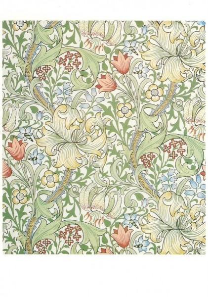 John-Henry Dearle. Golden Lily, 1900. KK