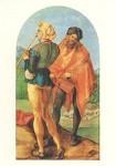 Albrecht Dürer. Der Pfeifer und der Trommler, ca. 1500