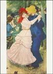 Piere-Auguste Renoir. A. Bal a Bougival. KK