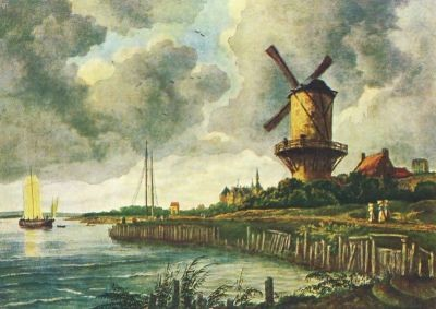Ruisdael, J. Die Mühle von Wiyk. KK