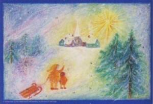 Bernadette Lips. Das Weihnachtsdorf, 31 x 21 cm