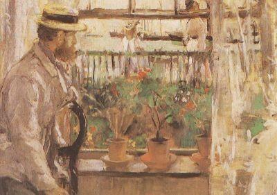 Berthe Morisot. Interieur von der Insel Wight