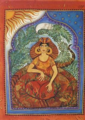 Jane Ray. Mythische Tiere-Schlangenfrau