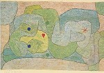 Klee, P. Nymphe im Gemüsegarten, 1939. KK