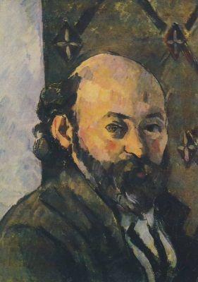 Selbstbildnis 1879/82, Cezanne