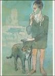 Picasso, P. Junge mit Hund, 1905. KK