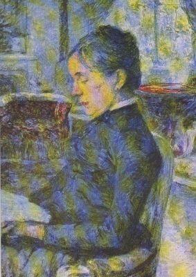 Henri de Toulouse-Lautrec. Gräfin A. de Toulouse-Lautrec..