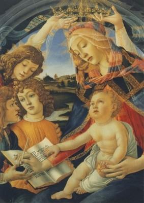 Sandro Botticelli. Madonna del Magnificat