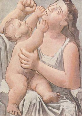 Picasso, P. Mutterschaft, Picasso