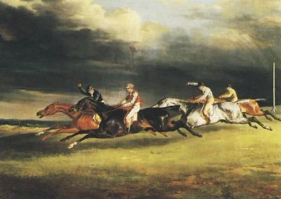Gericault, T. Pferderennen KK