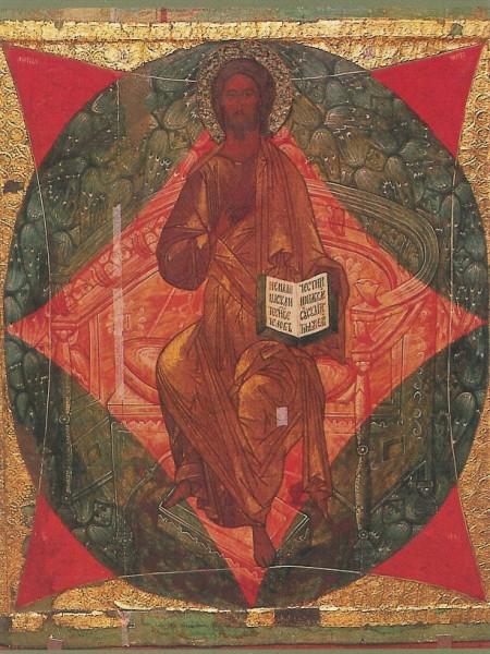 Christus Pantorkrator. Aus einer Ikonostase-Reihe. KK