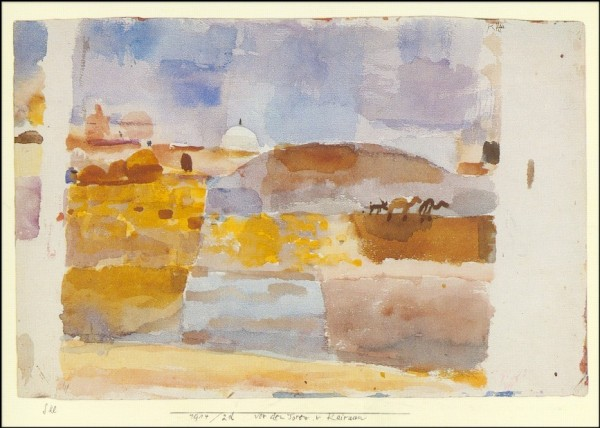 Klee, P. Vor den Toren von Kairouan. KK