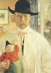 Carl Larsson. Selbstuntersuchung, 1906