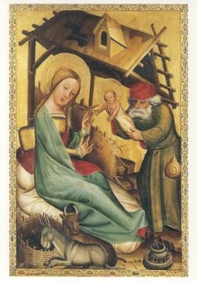Meister Bertram. Die Geburt Jesu um 1380
