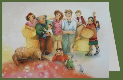 Dr. Waldmann-Brun. Familie ohne Cello + Umschlag