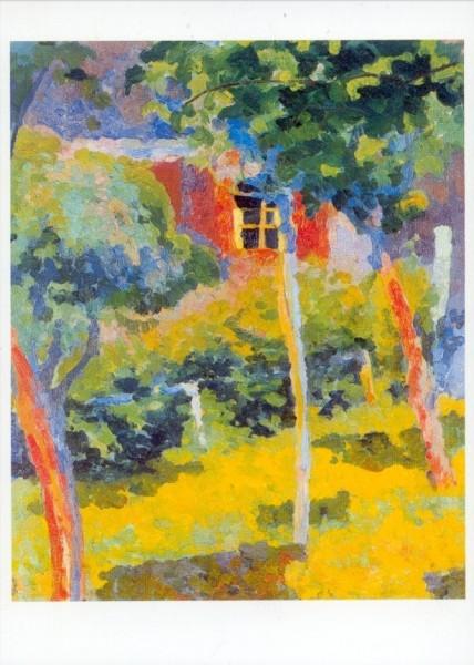 Giacometti, Giovanni. Fenster im Sonnenschein, 1915/16. KK