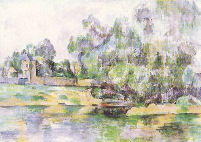 Flußufer, Cezanne