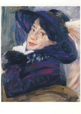 Corinth, L. Portrait Charlotte Berend-Corinth, 1912. KK