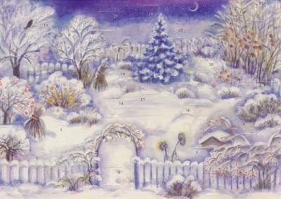 Eveline Rothenbühler. Der Weihnachtsgarten. 21 x 14,8